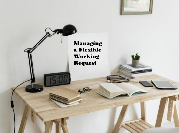 Managing a flexible working request