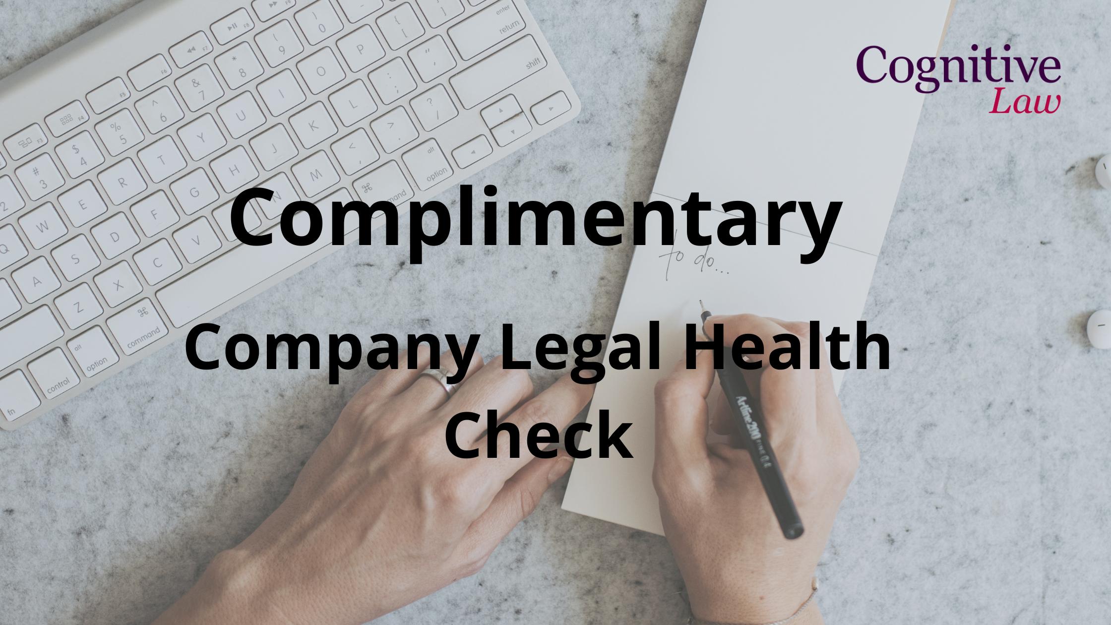 Company Legal Health Check