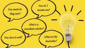 Consultant solicitors - frequently asked questions
